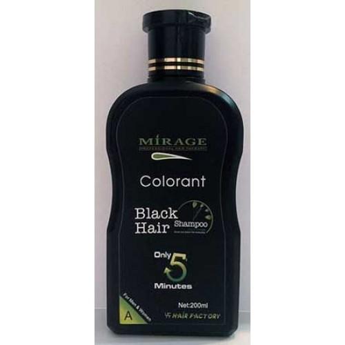Mirage Black Hair Saç Beyazlarını Kapatmaya Yardımcı Şampuan