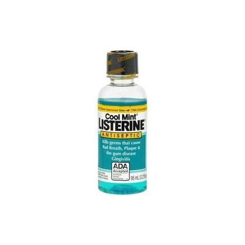 Listerine Antibakteriyel Ağız Bakım Ürünü 95 ml (Nane Aromalı)